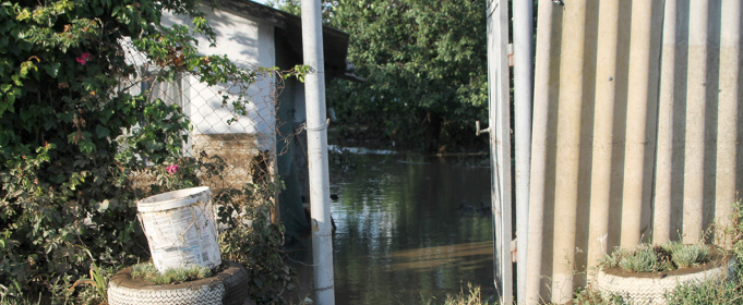 Ливень затопил село в Одесской области