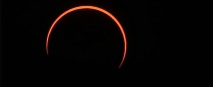 21 июня произошло кольцеобразное затмение Солнца