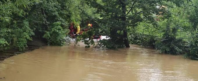 На Заході України через паводки загинуло три людини