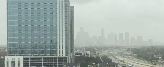 На США движется облако пыли из Сахары