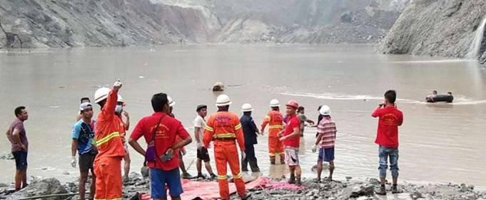 Оползень в Бирме унес жизни более 120 шахтеров