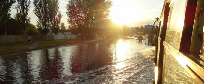 Черкассы затопило после сильного ливня