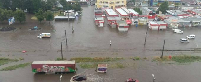 Дожди в Харькове побили 139-летний рекорд