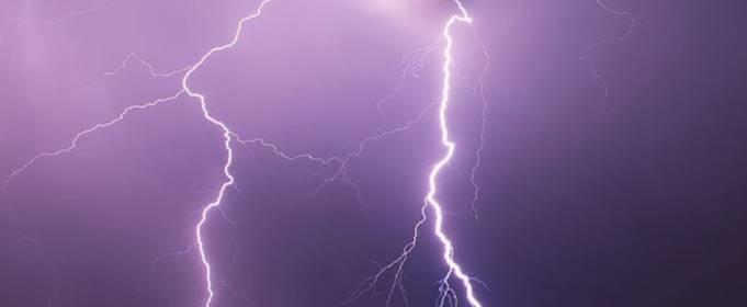 В Донецкой области от молнии пострадали два человека