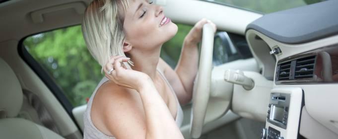 В жару лучше не пользоваться автомобилем без кондиционера