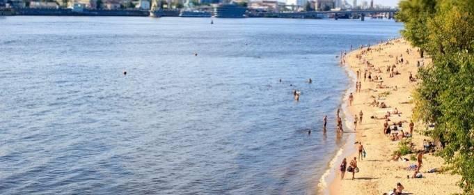 На большинстве пляжей Киева снова можно купаться