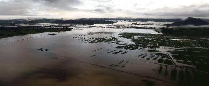 Потужний шторм обрушився на Нову Зеландію