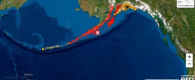 Біля берегів Аляски стався потужний землетрус. Оголошено загрозу цунамі