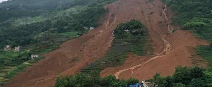 В Непале зафиксировано рекордное число фатальных оползней