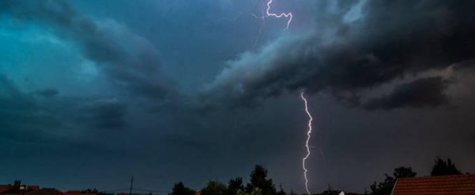 На юго-востоке Украины объявлено штормовое предупреждение