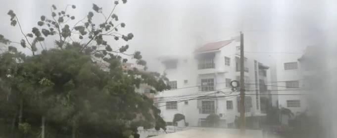 На Доминикану обрушился тропический шторм Исайяс