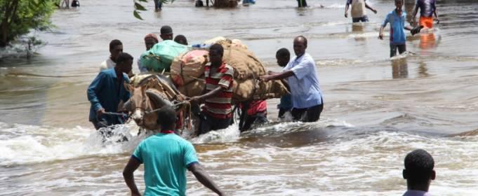 На Сомали обрушилось наводнение