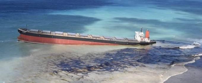 Маврикию угрожает экологическая катастрофа