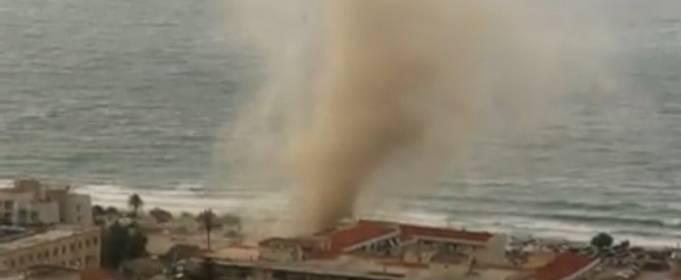 На узбережжя Сицилії обрушився потужний смерч