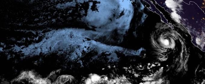 У берегов Мексики сформировался очередной шторм