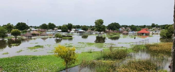 Южный Судан терпит бедствие от наводнений