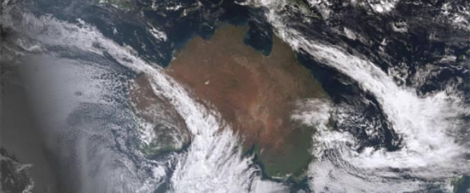 В небе Австралии образуются редкие «атмосферные реки»