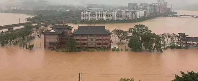 С начала сезона наводнений в Китае погибли 219 человек