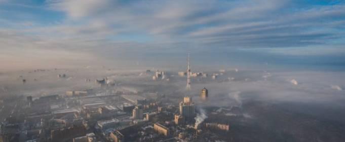 В июле в Киеве был высокий уровень загрязнения атмосферы