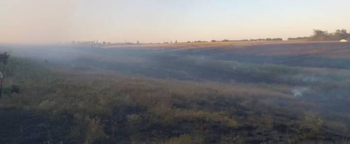 За сутки в Николаевской области зафиксировано 16 пожаров в экосистемах