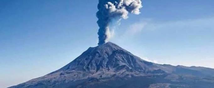 В Мексике проснулся один из самых активных вулканов мира