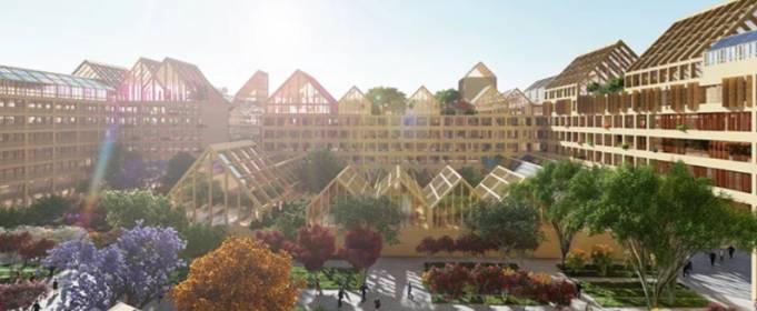 В Китае хотят построить город для жизни в эпидемию