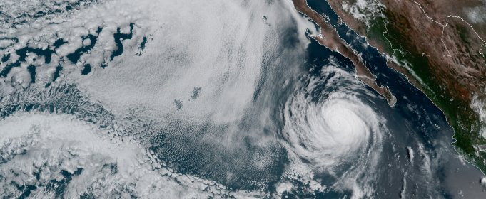 Над Тихим океаном зарождается очередной ураган