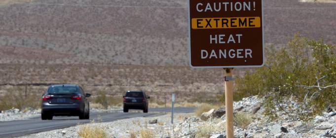 В Долине Смерти +54,4 °C!