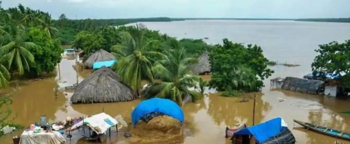 Южные штаты Индии пострадали от наводнений