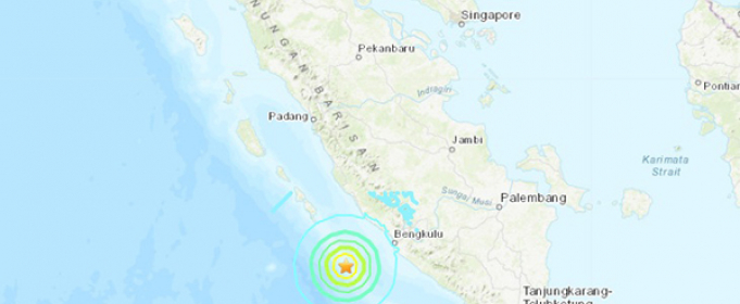 В Индонезии произошли два мощных землетрясения