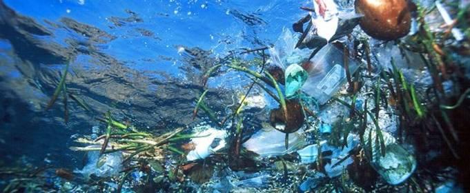 Атлантический океан серьезно загрязнен микропластиком