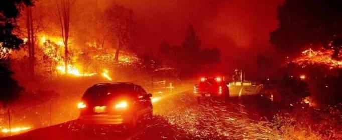 Каліфорнія потерпає від пожеж