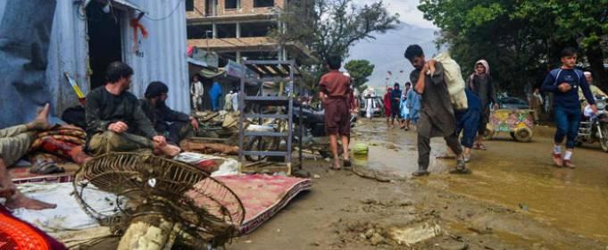 В Афганистане и Пакистане жертвами наводнений стали более 100 человек