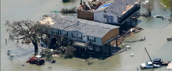 ВИДЕО. Последствия урагана Лаура в Техасе и Луизиане