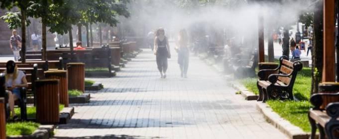 Лето-2020 в Киеве стало одним из самых жарких в истории