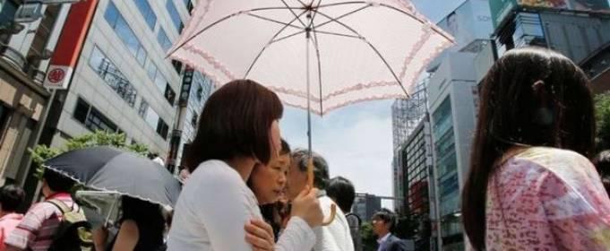 В Японии зафиксировали рекордную жару