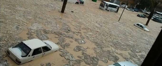 Север Алжира пострадал от наводнения