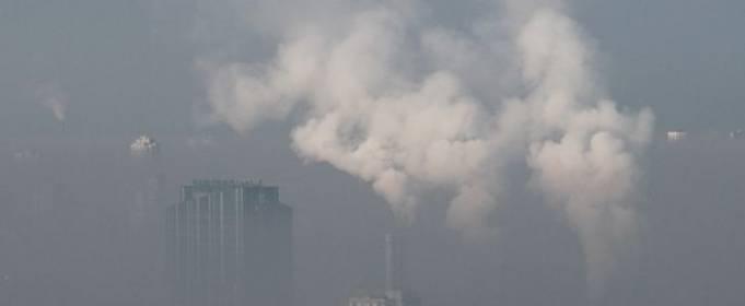 Воздух в Киеве остается загрязненным