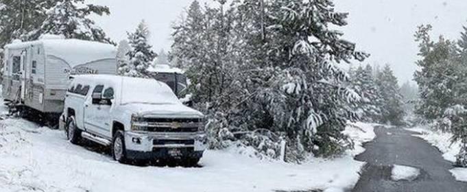 У США в декількох штатах випав сніг