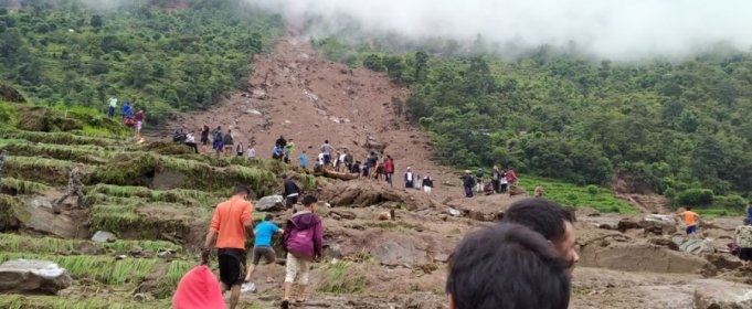 9 человек погибли в результате оползней в Непале