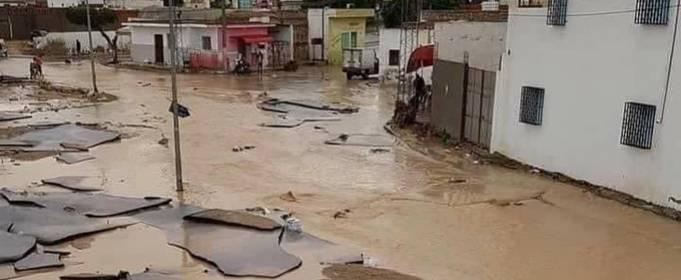 В Тунисе в результате наводнения погибло 6 человек
