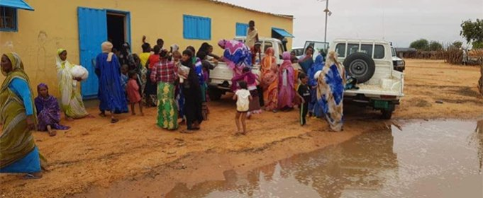 На юге и востоке Мавритании после проливных дождей начались сильные наводнения