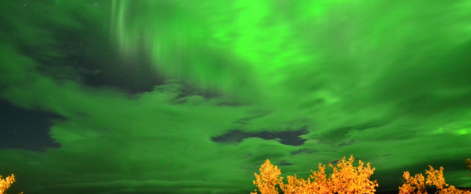 Зелені хмари з'явилися над Швецією