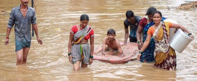 В Индии 34 тысячи пострадавших после новых наводнений в штате Ассам