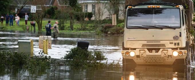 В Алабаме и Флориде после урагана Салли выпало 760 мм осадков