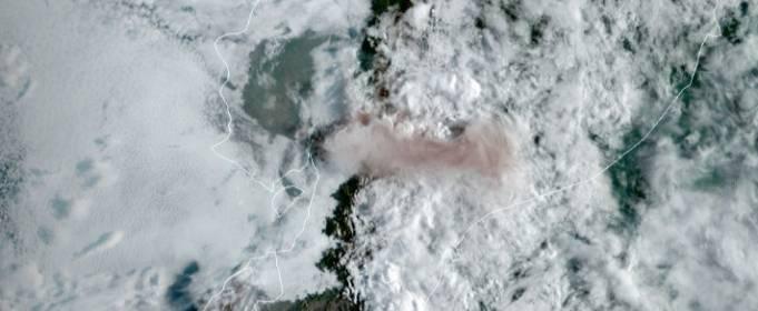 В Эквадоре произошло извержение вулкана Сангай