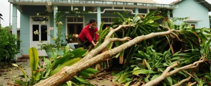 Тропический шторм Ноул вызывает сильные разрушения и наводнения во Вьетнаме, Лаосе и Таиланде
