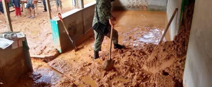 Смертельные наводнения в Мексике