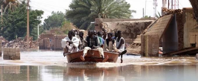 В Судане повреждены или разрушены наводнением 166 тысяч домов