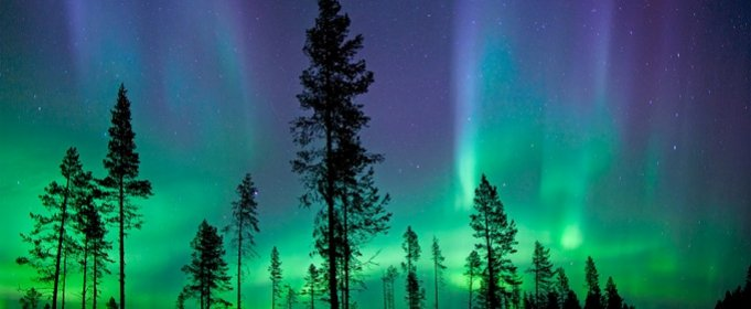 У Фінляндії почався сезон Північного сяйва